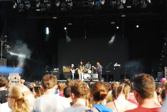 "Antroji festivalio ""Lollapalooza Berlin"" diena"
