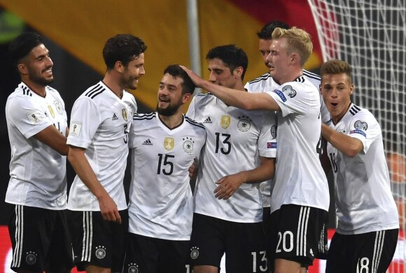 Vokietijos futbolininkai