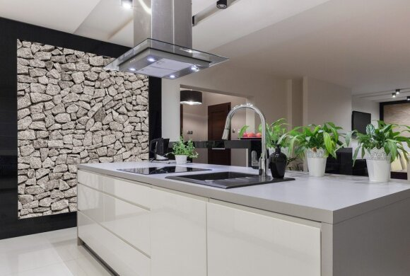Šiuolaikinis interjeras: sala kaip virtuvės centras