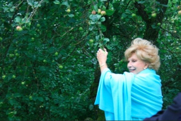 Ruta Lee's visit to Lithuania. Photo by Birutė Vyšniauskaitė