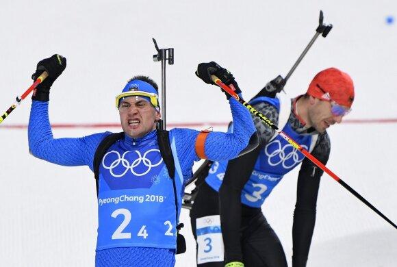 Italo Dominiko Windischo ir vokiečio Arndo Peifferio finišas