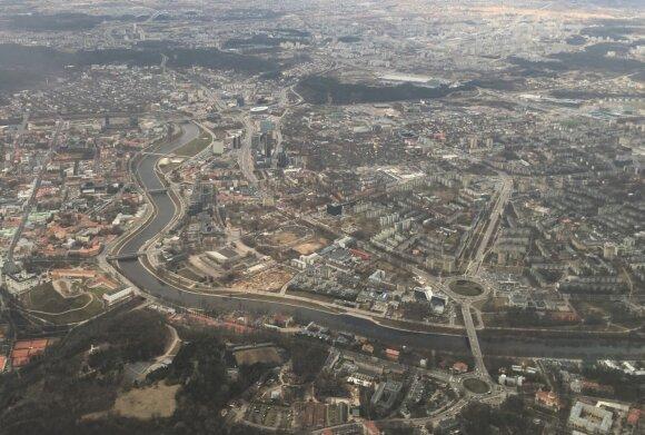 Automobilį siūlys palikti prie Vilniaus