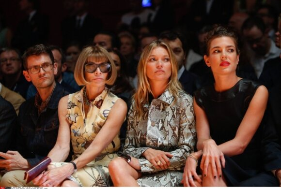 Anna Wintour, Kate Moss, Charlotte Casiraghi
