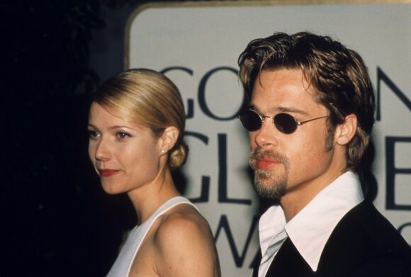 Gwyneth Paltrow ir Bradas Pittas