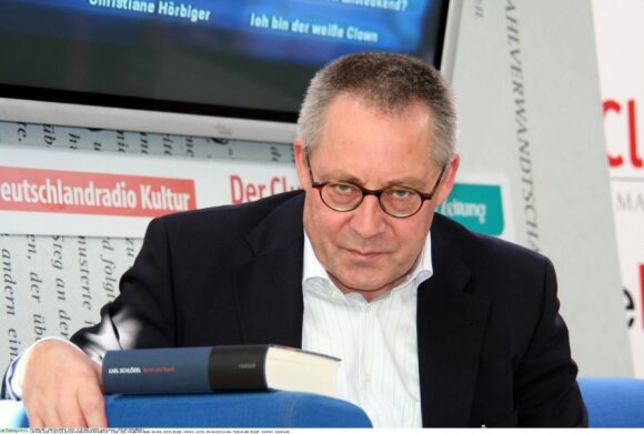 Istorikas, Rytų Europos ekspertas, profesorius Karlas Schloegelis