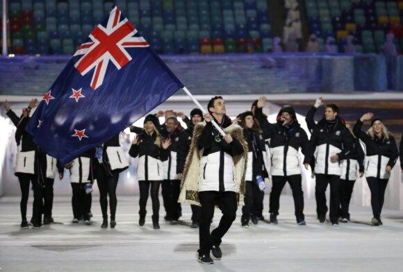 Naujosios Zelandijos sportininkai