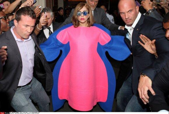 Lady Gaga Paryžiuje