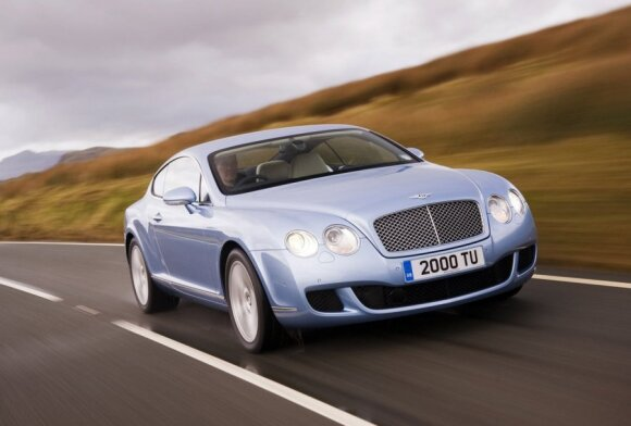 Bentley Continental GT (2009 m.)