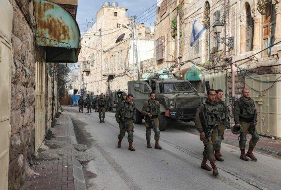 Izraelio pajėgos Vakarų krante