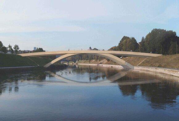 Alberto tiltas // Lietuvos architektų sąjungos nuotr.
