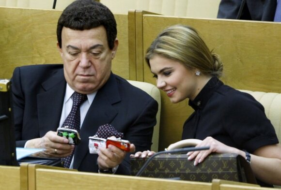 Josifas Kobzonas ir Alina Kabajeva
