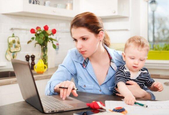 Įmonių vadovų požiūris į mamas keičiasi: pasakė, kokių privalumų turi moterys, auginančios vaikus