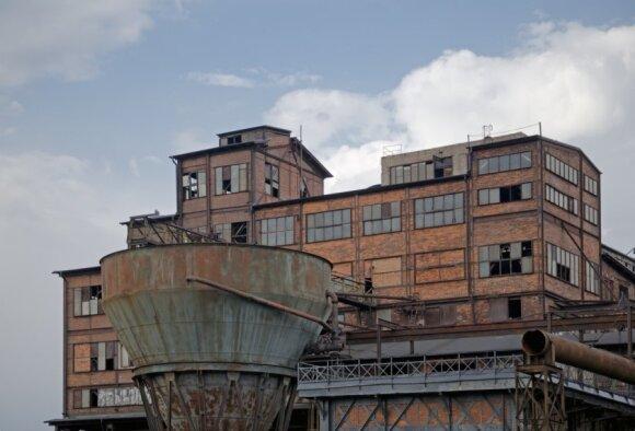 Ostrava, industrinė Vitkovice sritis
