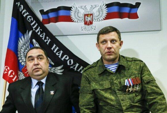 Aleksandras Zacharčenka ir Igoris Poltnickis