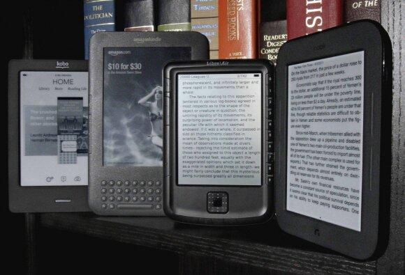 Populiarėja elektroninės knygos: jas išbandę vardija privalumus