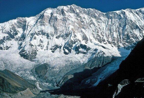 Anapurna (Nepalas) / Wolfgang Beyer nuotr.