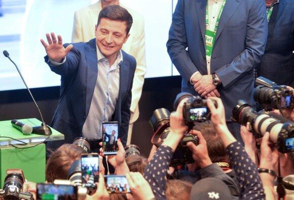 Ukrainoje vyksta prezidento rinkimai