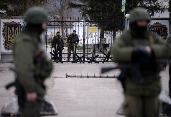 Neviešinta Krymo užgrobimo istorijos dalis: teritoriją dalijosi įsigalėjusios Rusijos nusikaltėlių grupuotės