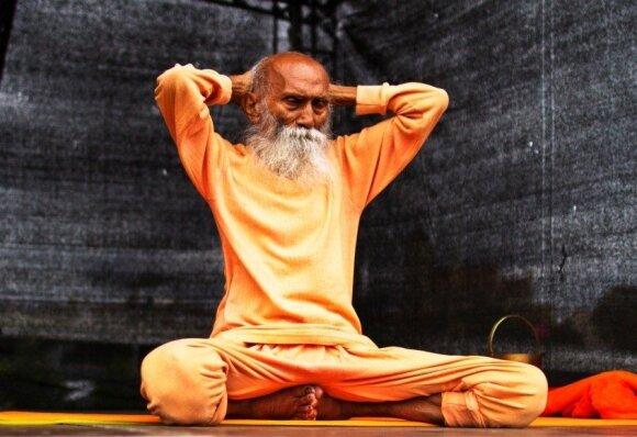 104 metų jogas Swami Yogonanda