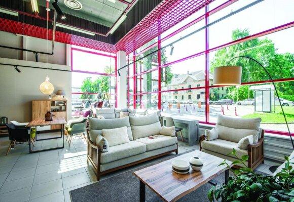 Atnaujintame salone – modernios lietuviškų baldų kolekcijos