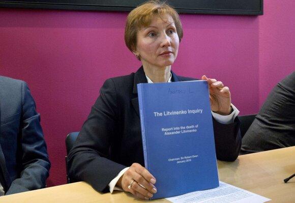 M. Litvinenko pristato tyrimo ataskaitą