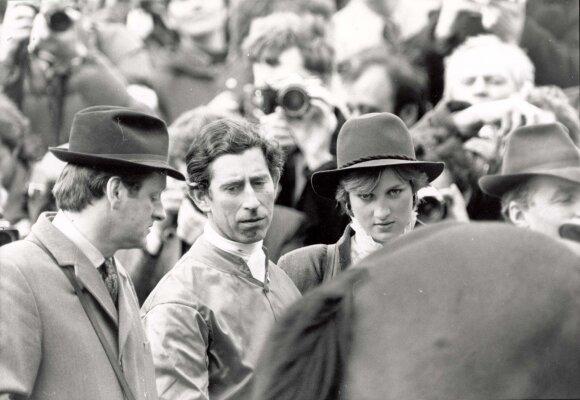 Princas Charlesas su princese Diana