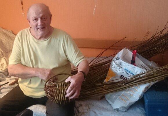 Neįprastam hobiui vyras rado laiko senatvėje
