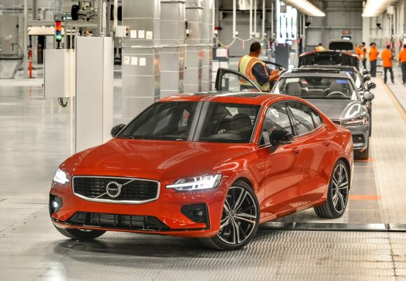 "Naujoji ""Volvo"" gamykla Čarlstone"