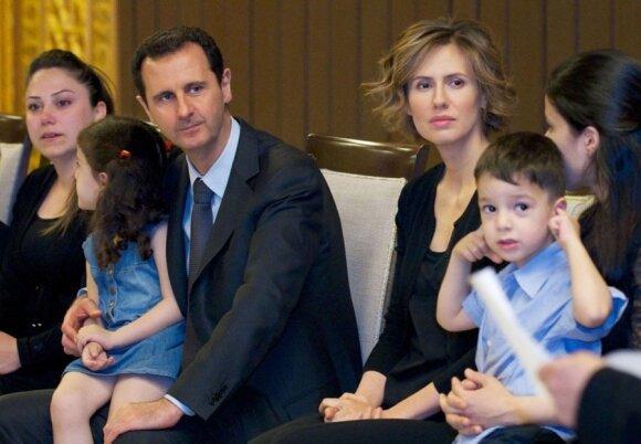 Basharas al Assadas, Asma al Assad