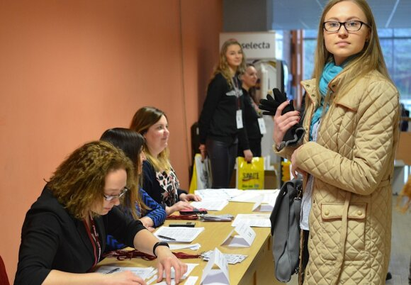 Savaitgalį mokiniai demonstravo verslo ir ekonomikos žinias