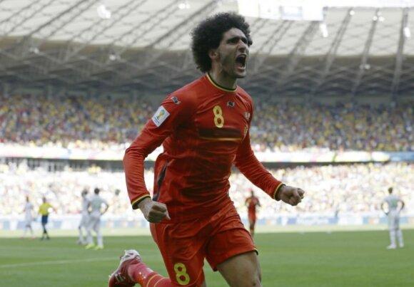 Iš anksto išgirtieji belgai išvargo sunkią pergalę prieš Alžyrą
