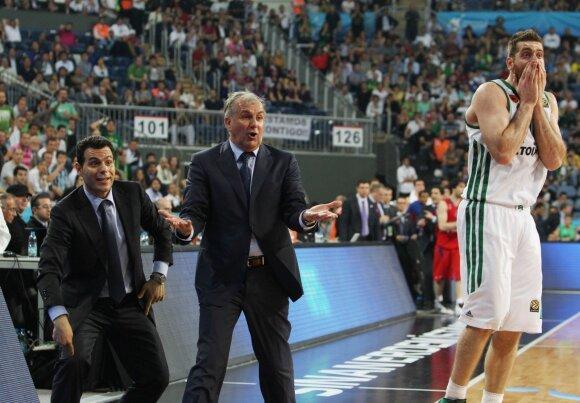 Dimitrios Itoudis (kairėje) – Željko Obradovičiaus asistentas