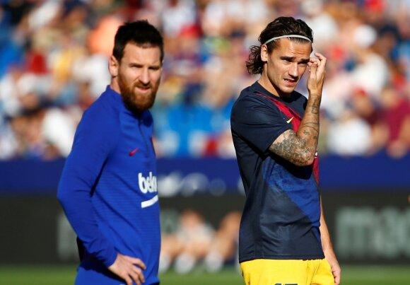 Lionelis Messi, Antoine Griezmannas