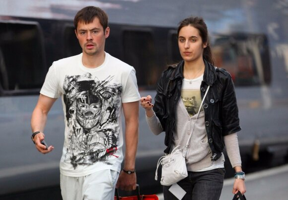 Diniaras Bilialetdinovas su žmona Marija