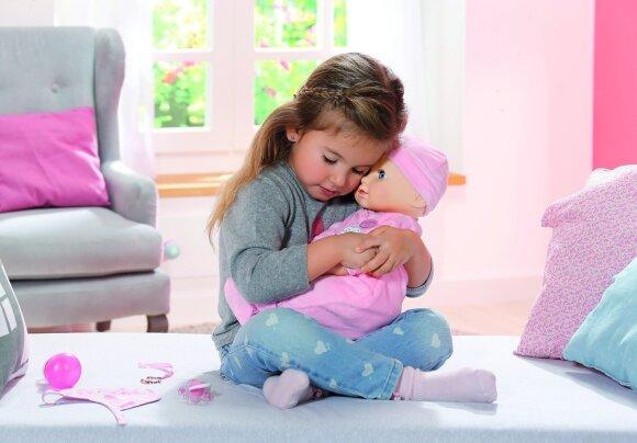 BABY BORN interaktyvi lėlė elgiasi kaip tikras kūdikis