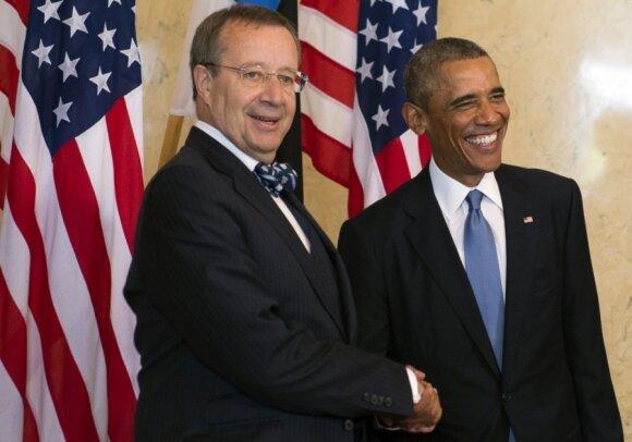 Toomas Hendrikas Ilvesas, Barackas Obama