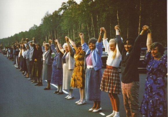 Siųsk! Susikibus rankomis - Baltijos kelyje
