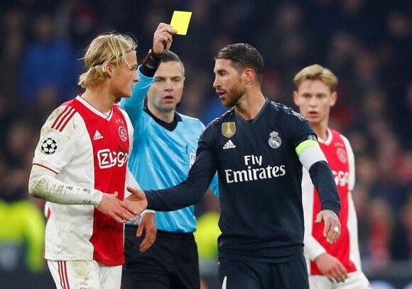 Sergio Ramosas (dešinėje)