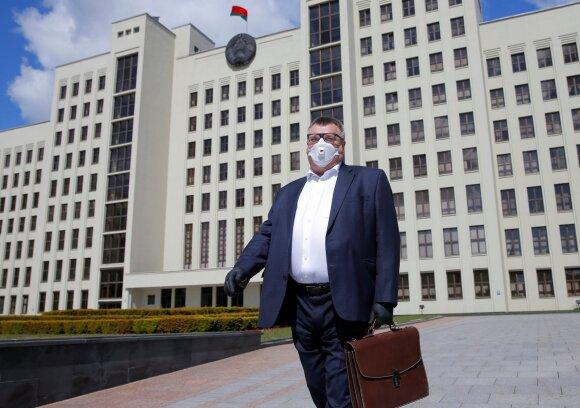 Viktoras Babariko užsiregistravo kandidatu į Baltarusijos prezidentus