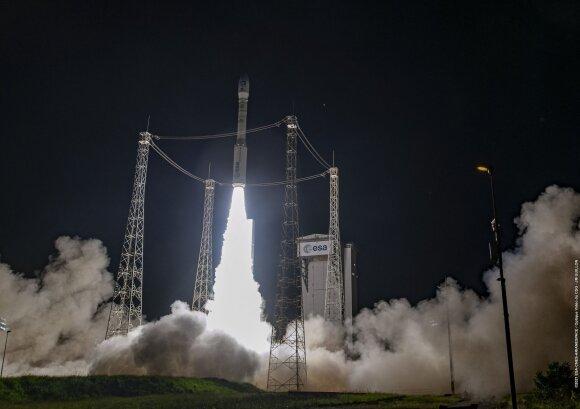 Į kosmosą pakilo ESA raketa Vega