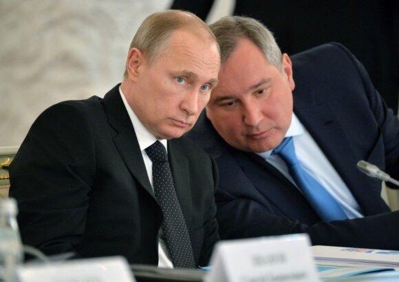 Vladimiras Putinas, Dmitrijus Rogozinas