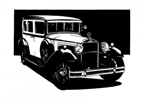 Mercedes-Benz piešinys