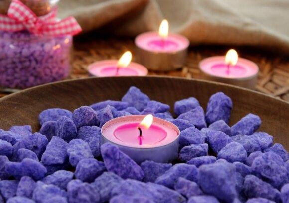 Žvakes rinktis reikėtų atsakingai