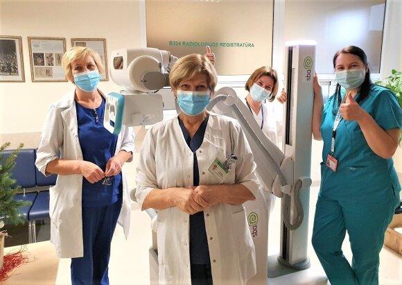 Išaugus COVID–19 pacientų skaičiui, ligonines pasieks gyvybiškai svarbi įranga