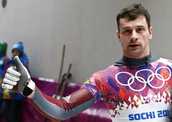 Olimpinis vicečempionas latvis Martinas Dukuras