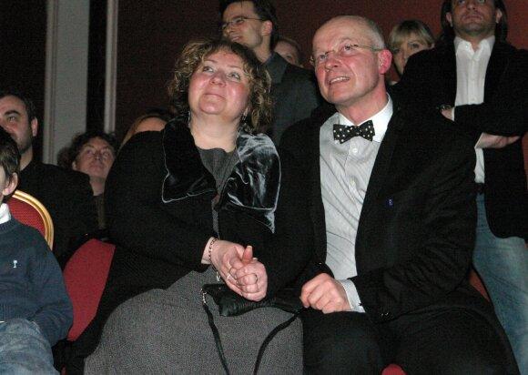 Kęstutis Vitkus su žmona Vita
