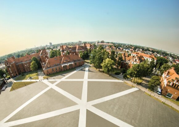 Klaipėdos universiteto miestelis