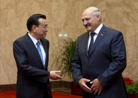 Li Keqiang, Aleksandras Lukašenka