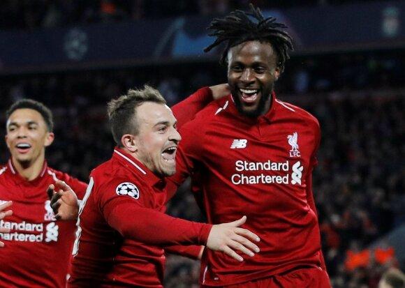 "Divock Origi (dešinėje), ""Liverpool"""