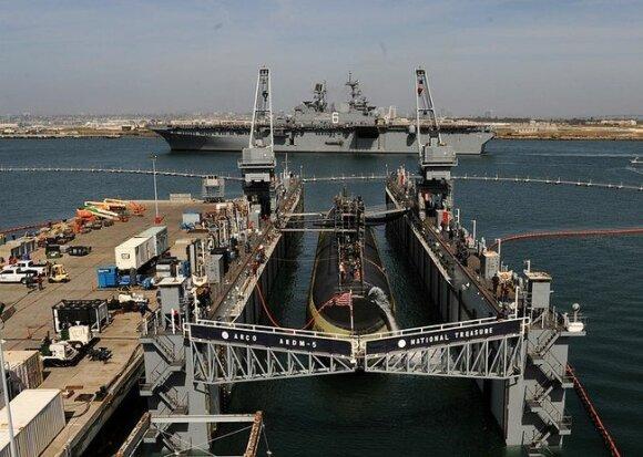 """""""USS San Francisco"""" 2015 metais"""